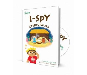 I Spy X-mas | Book & CD