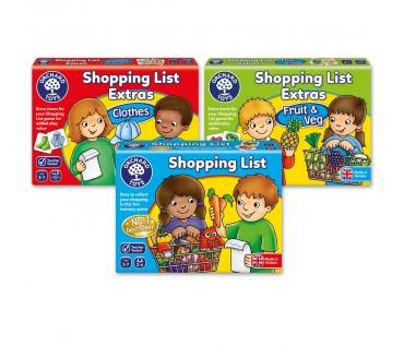 SHOPPING LIST | 3-PACK