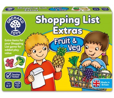 Shopping List Fruit & Veg